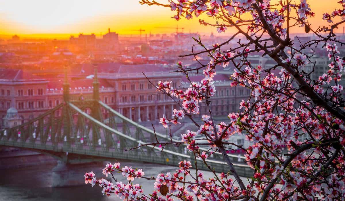 Budapest in April