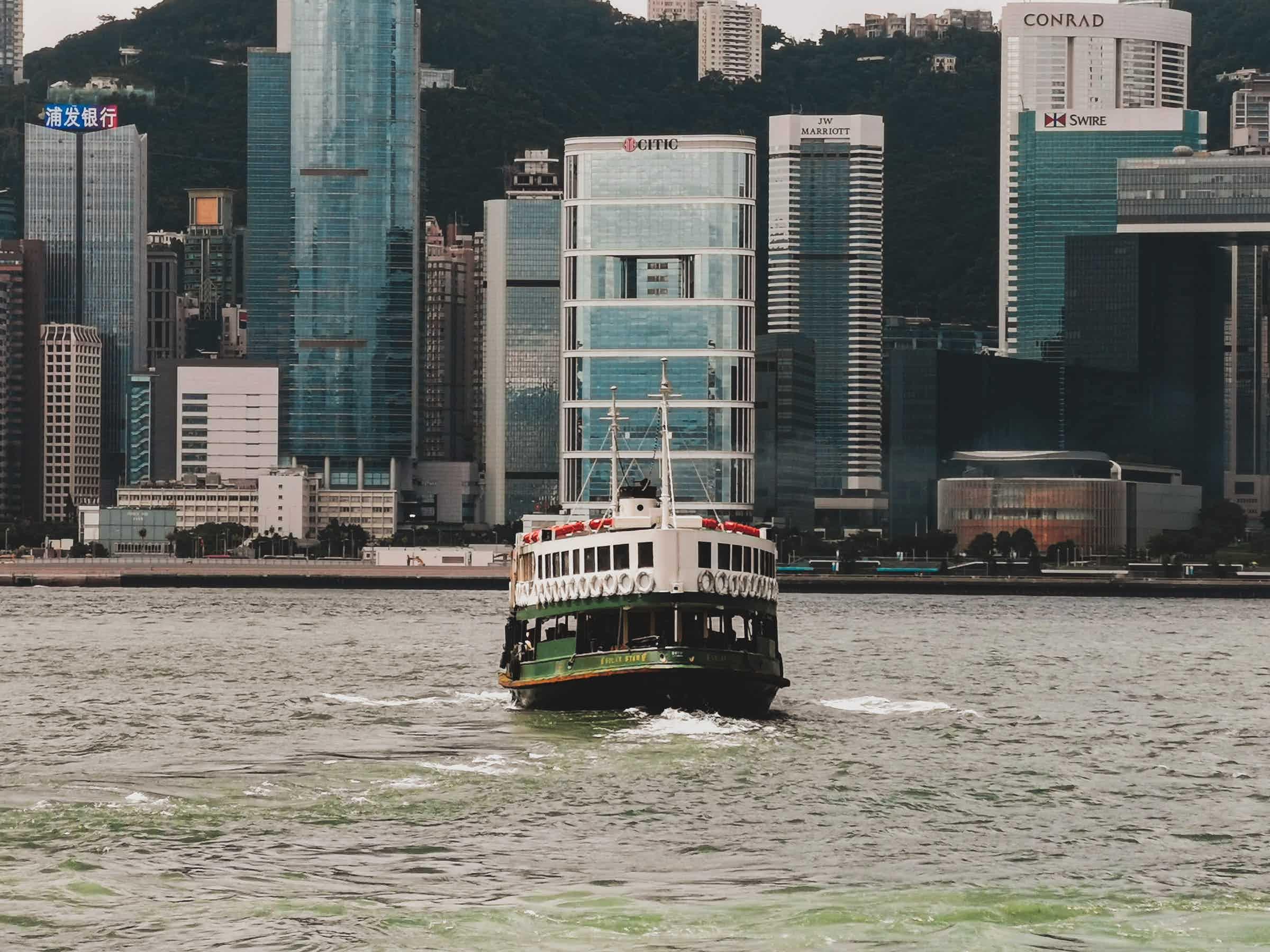 date in hong kong ferry