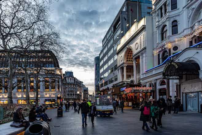 restaurants near TKTS Leicester Square