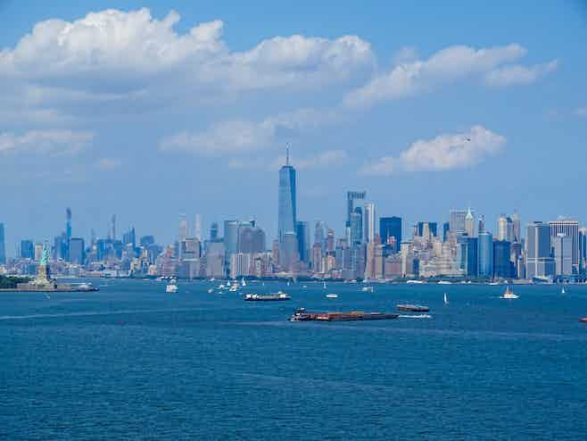 hudson river cruise nyc view