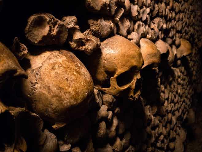 Paris in 3 days-paris catacombs