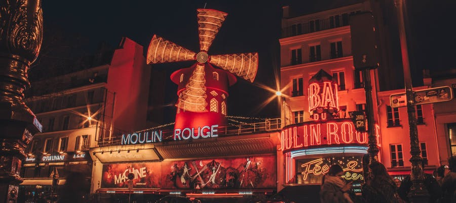 paris in february - Moulin Rouge