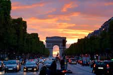 5 days in paris - Arc de triomphe - 1