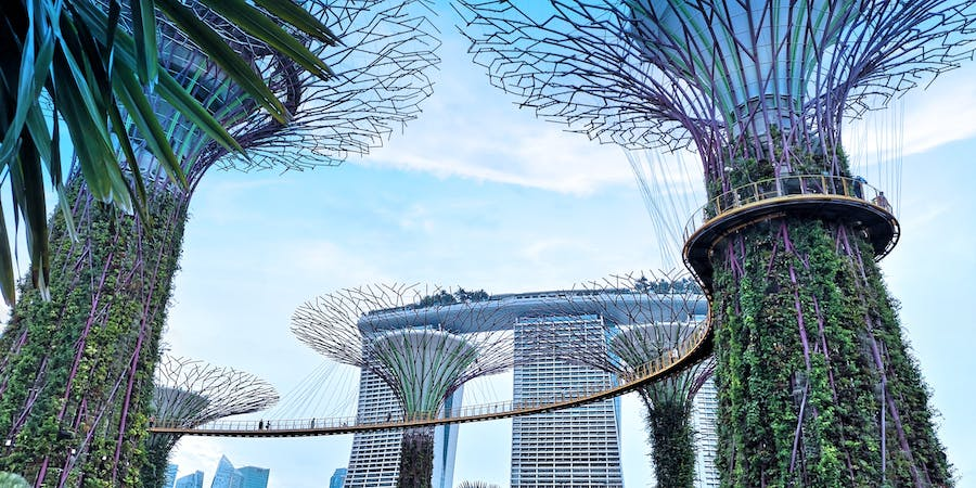 Singapore in March - Gardens by the Bay