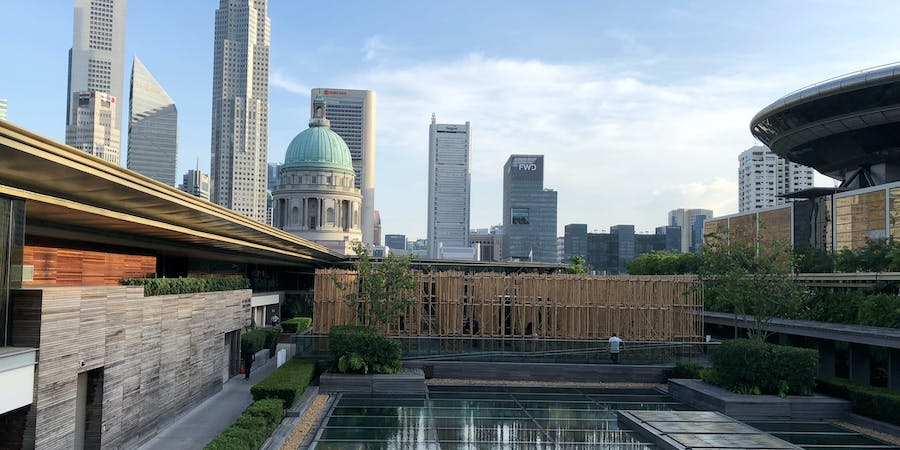 Singapore in April - National Gallery