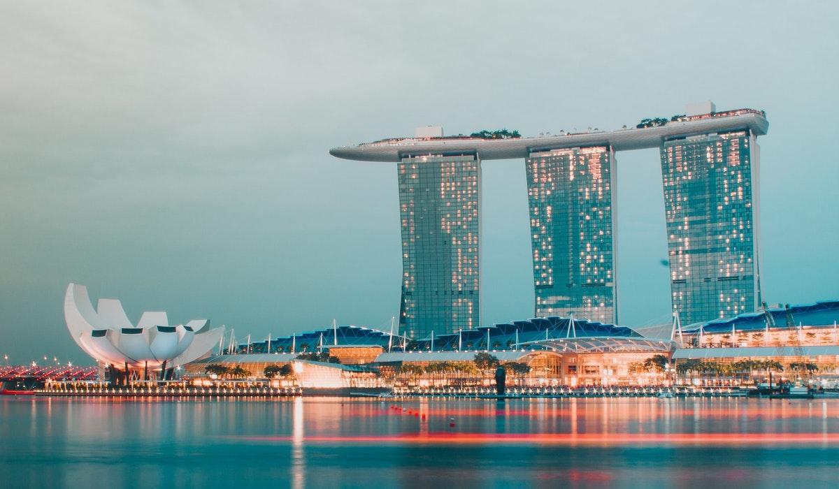 Singapore in April