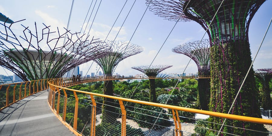 Singapore in April - Skyline Luge
