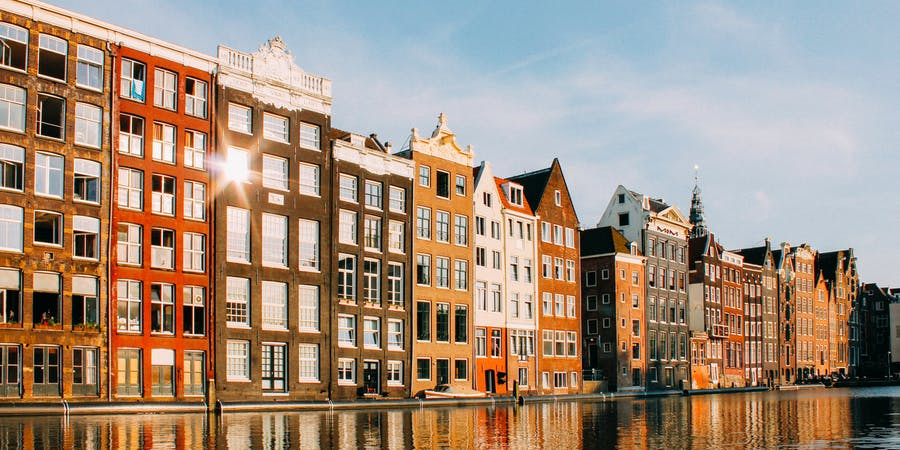 Amsterdam in March