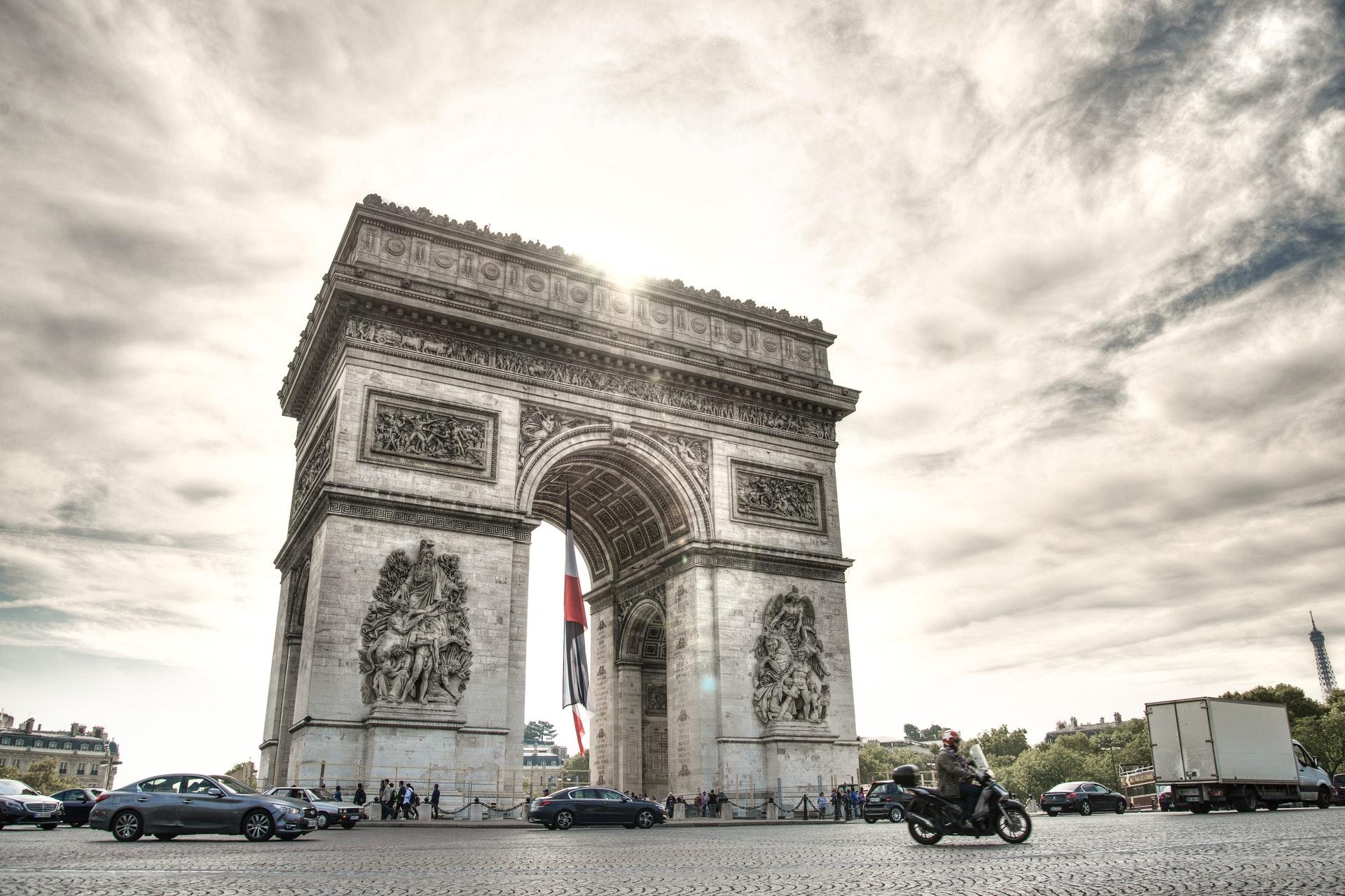 Paris in 3 days- Arc de triomphe