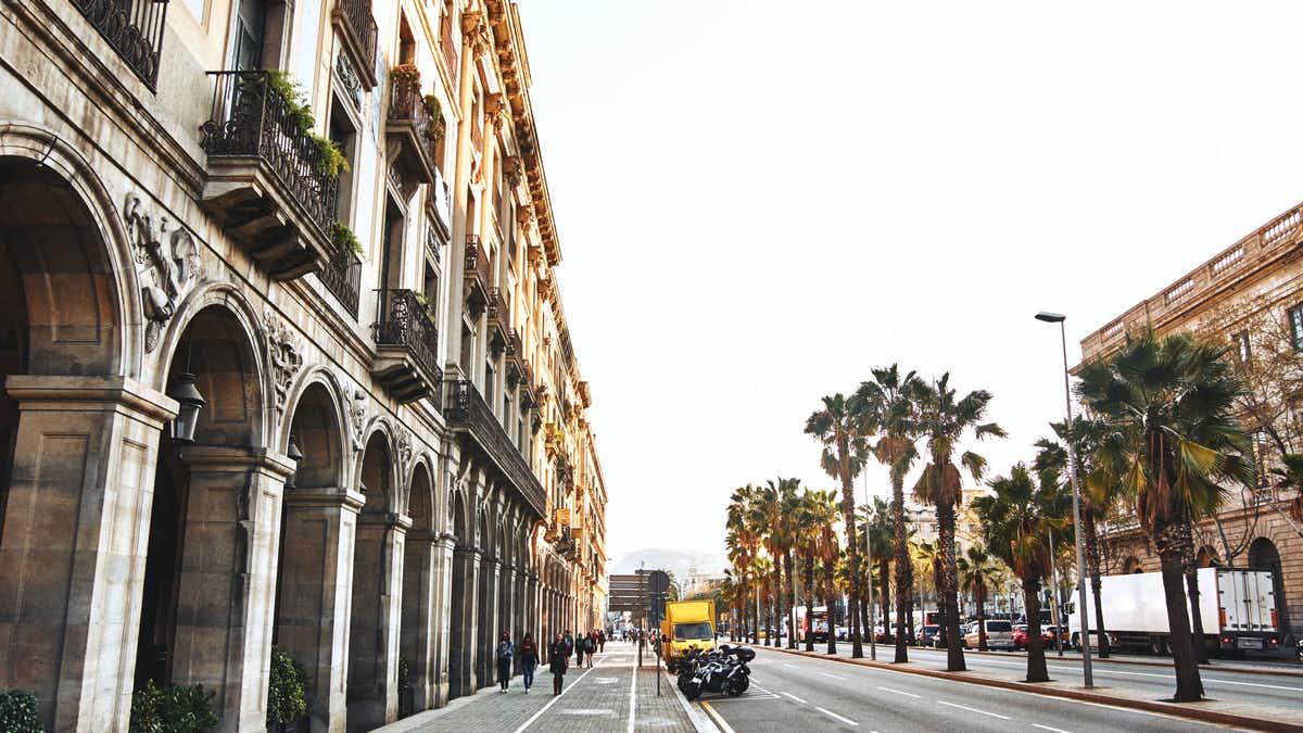 gaudi barcelona buildings - Torres Bellesguard