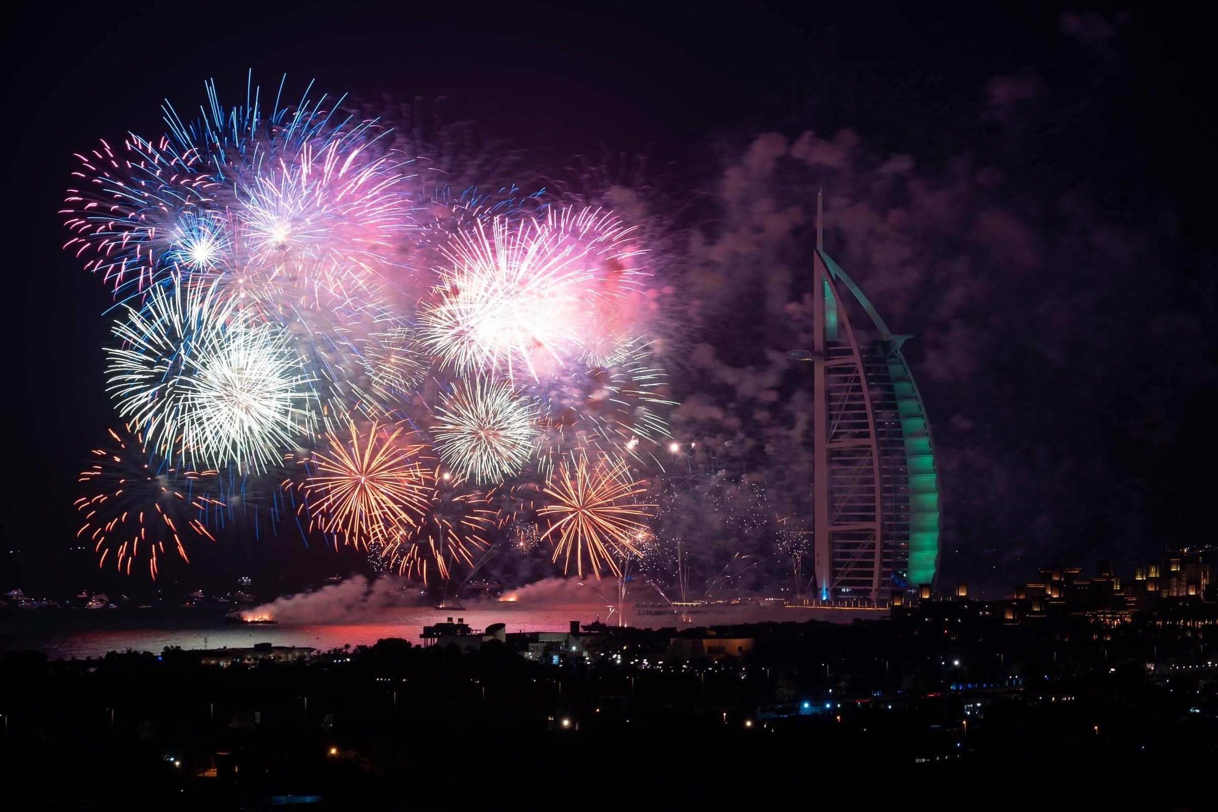 dubai new year ever