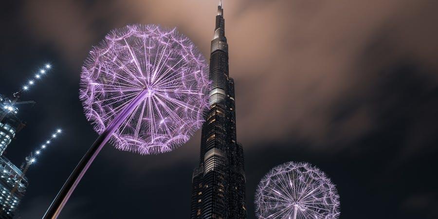 Dubai in february - burj khalifa
