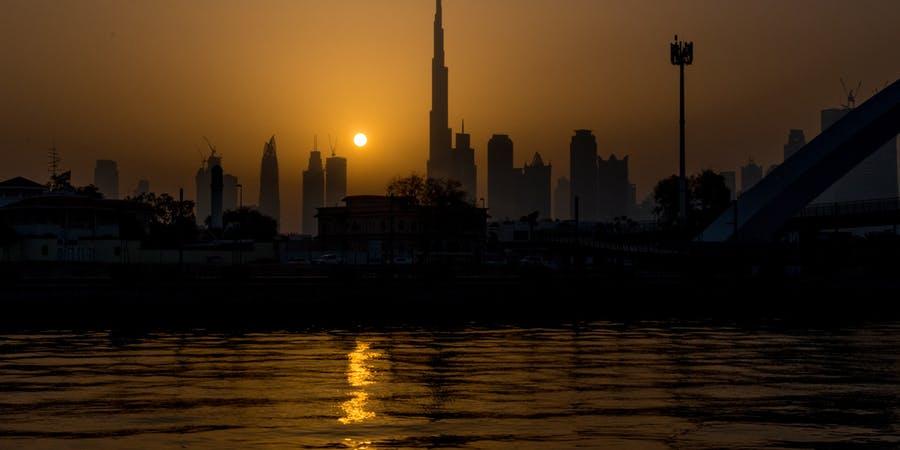 Dubai in April - burj khalifa