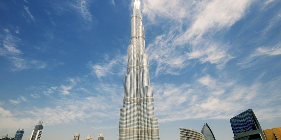 Dubai in march - burj khalifa
