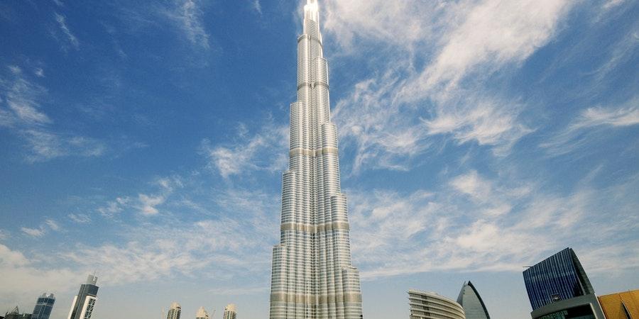 Dubai in June - burj khalifa