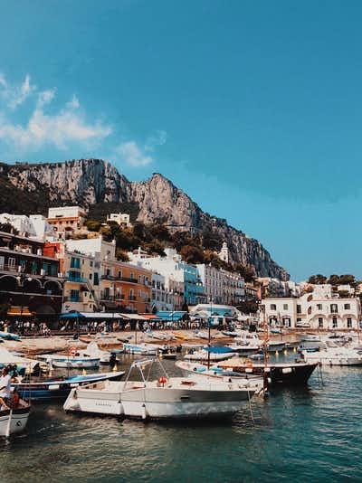 rome to capri day trip