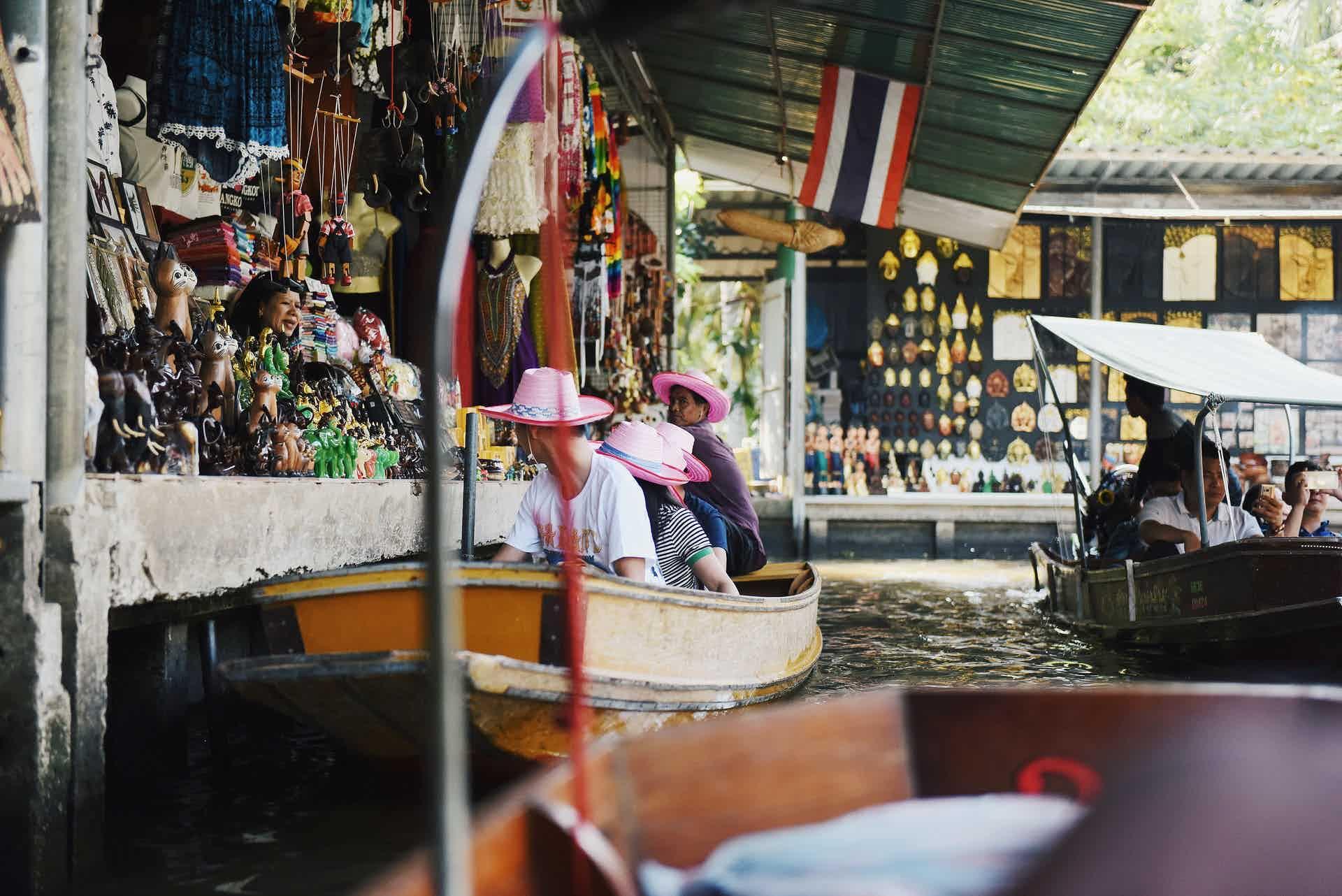 best floating markets bangkok