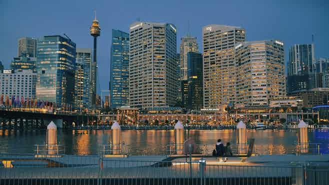 sydney new year fireworks - free vantage point