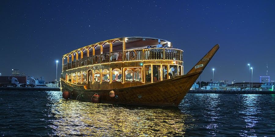 Dubai in march - dhow cruise