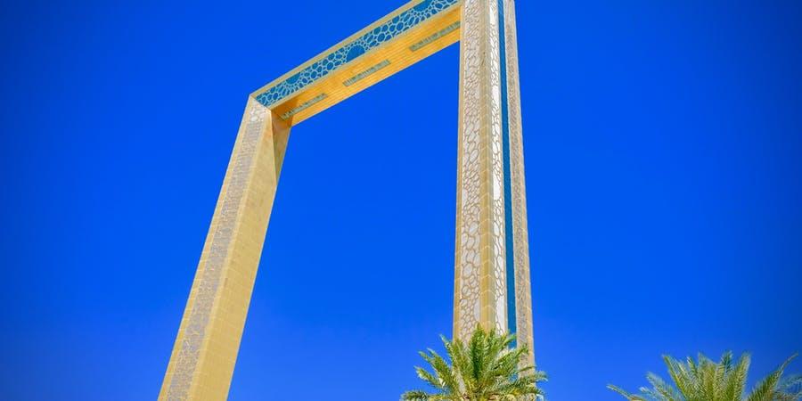 Dubai in may - dubai frame