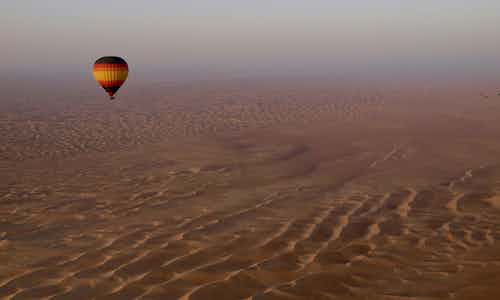 5 Day Dubai Itinerary - Hot Air Ballooning - 1