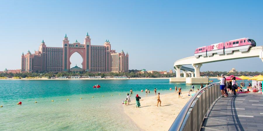 Dubai in february - dubai frame