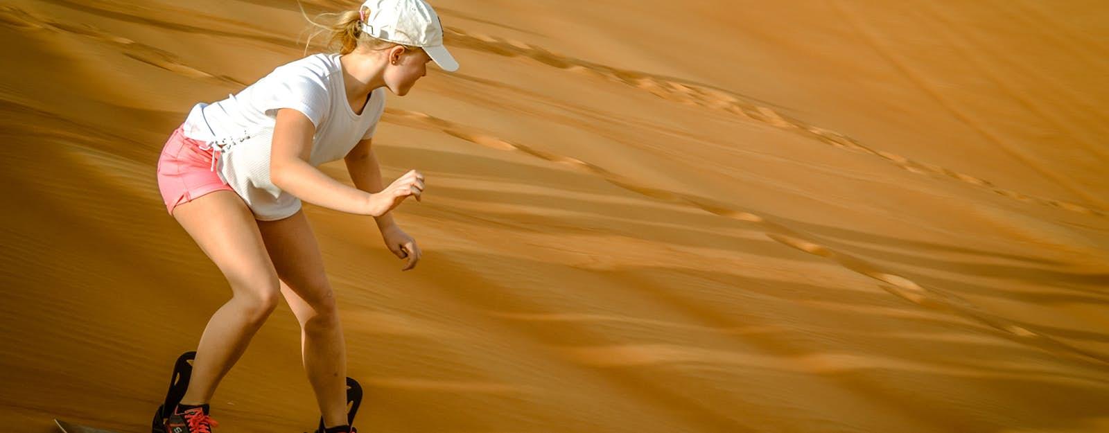 sandboarding dubai