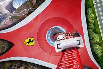 ferrari world tickets junior grand prix