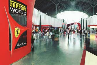 Ferrari World Turbo Track
