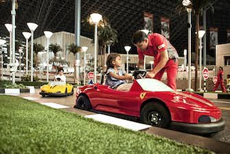Ferrari World Bennos Great Race