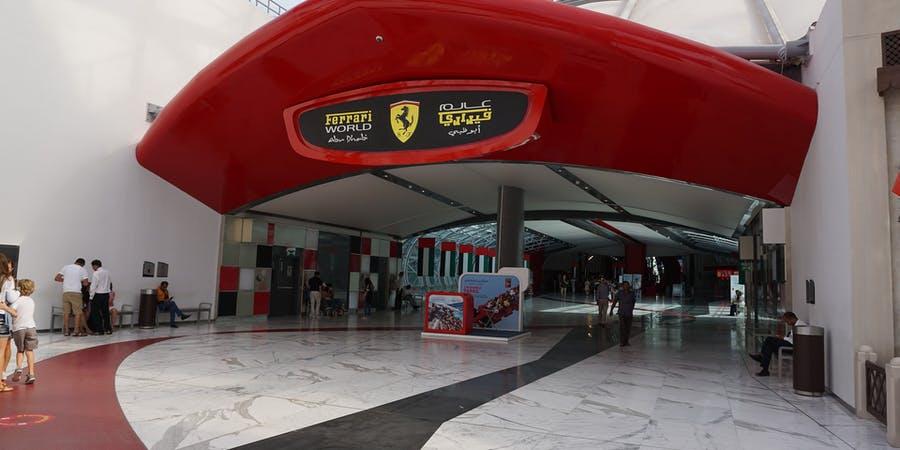 Dubai in June - Ferrari World