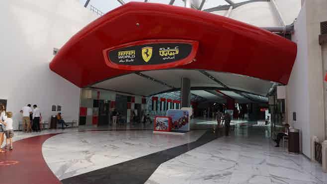 Dubai in 5 days-Ferrari World