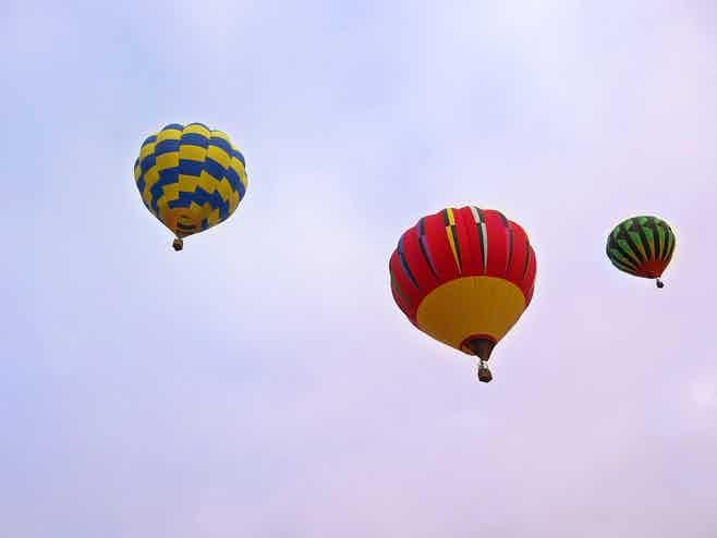Dubai in 5 days-Hot Air Ballooning