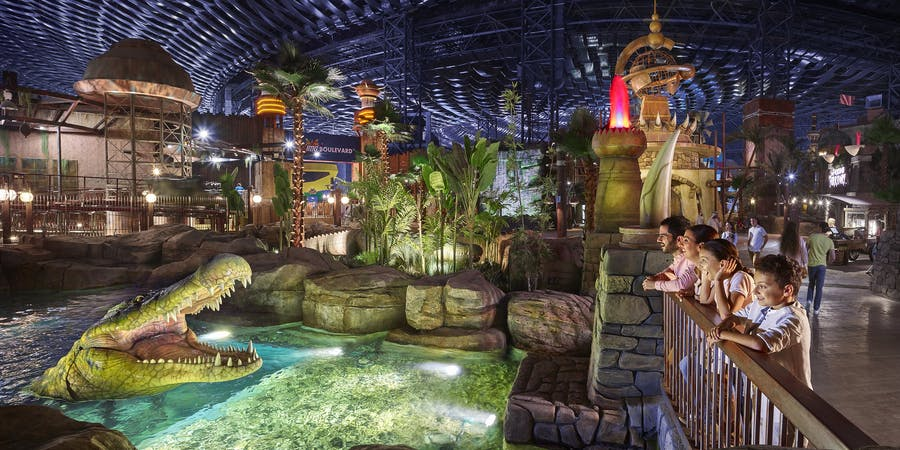 Dubai in March - IMG Worlds of Adventure