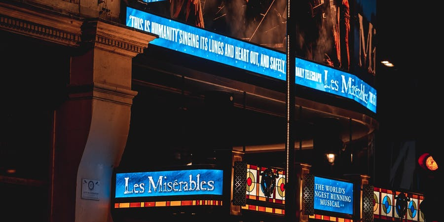 London in August - things to do - West End Theatre