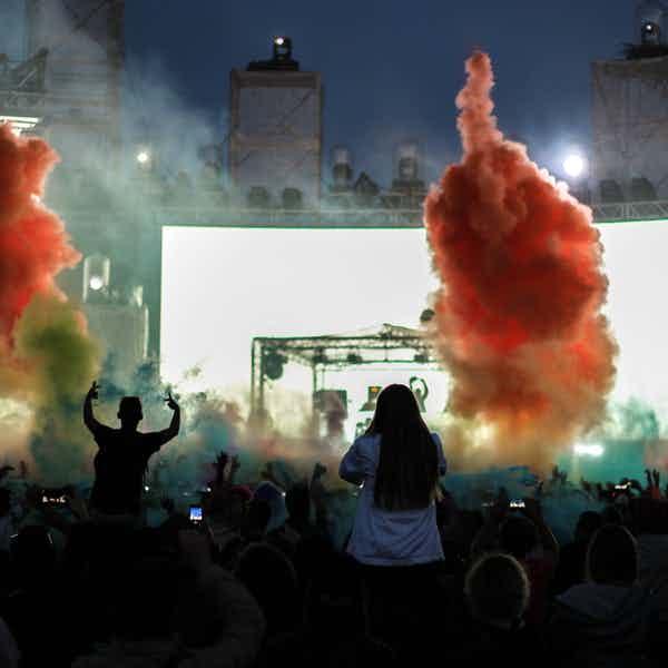 Paris in november - pitchforkmusic festival