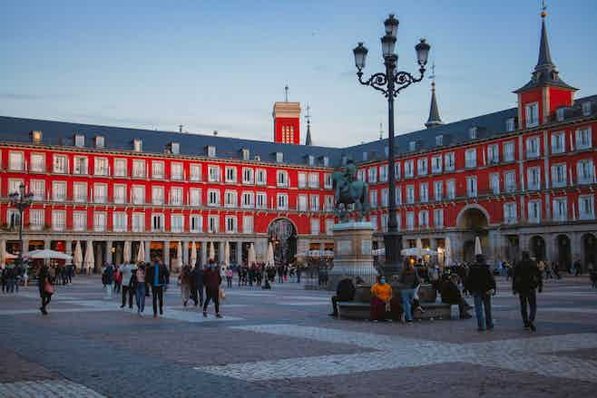 one day in madrid