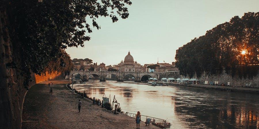 rome in january-trastavere