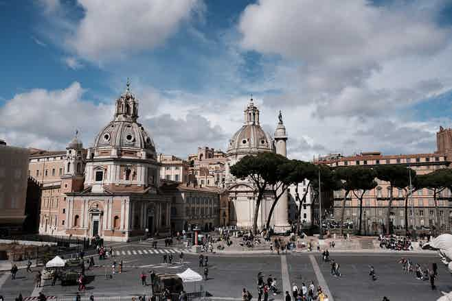 rome in January