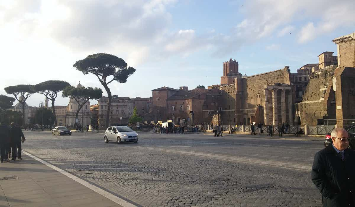 Rome in March