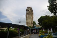 Best Things to do in Sentosa - Sentosa Merlion 1