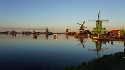 Windmills & Beyond At Zaanse Schans