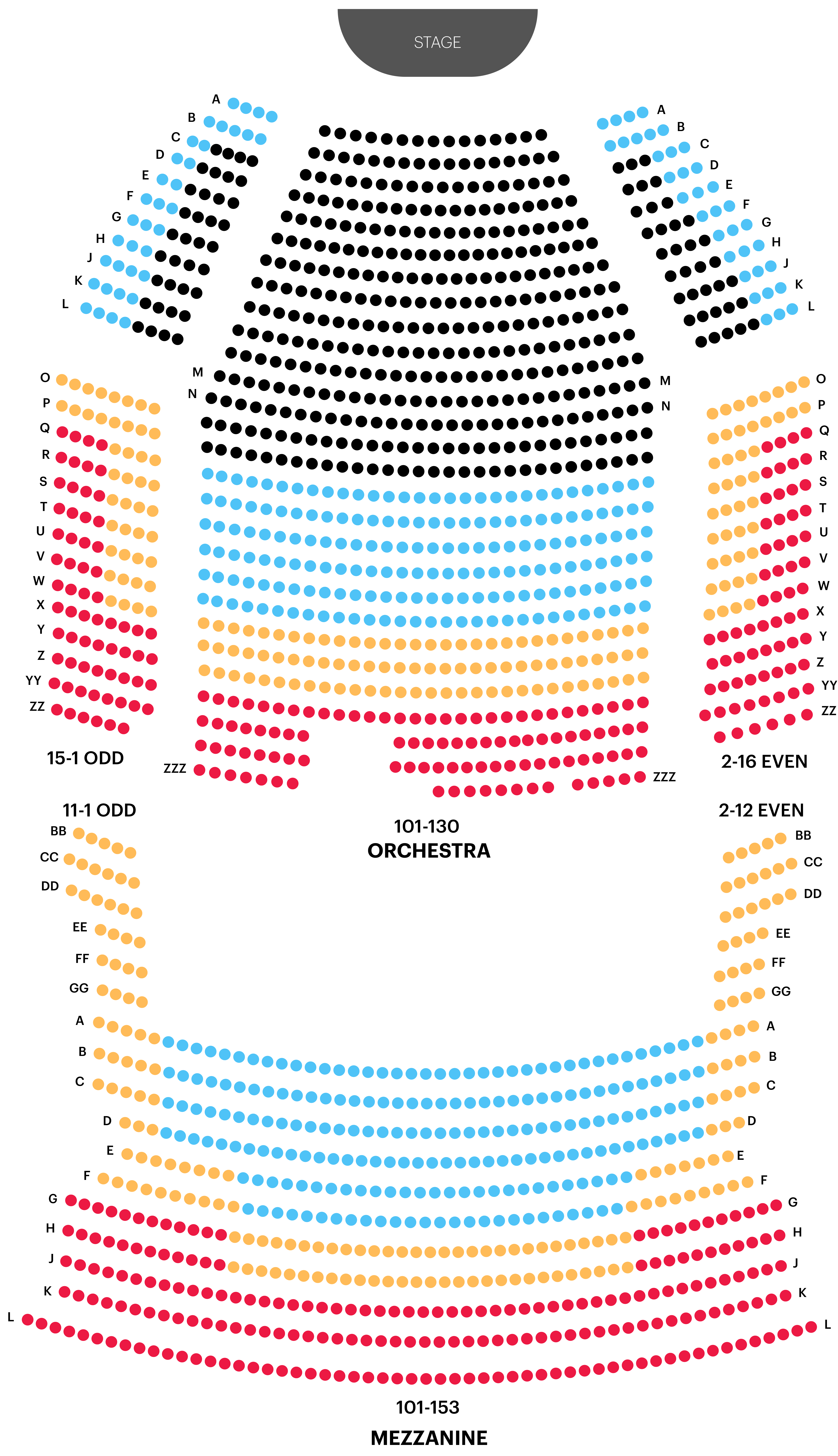 Minskoff Theatre Seating Chart Map