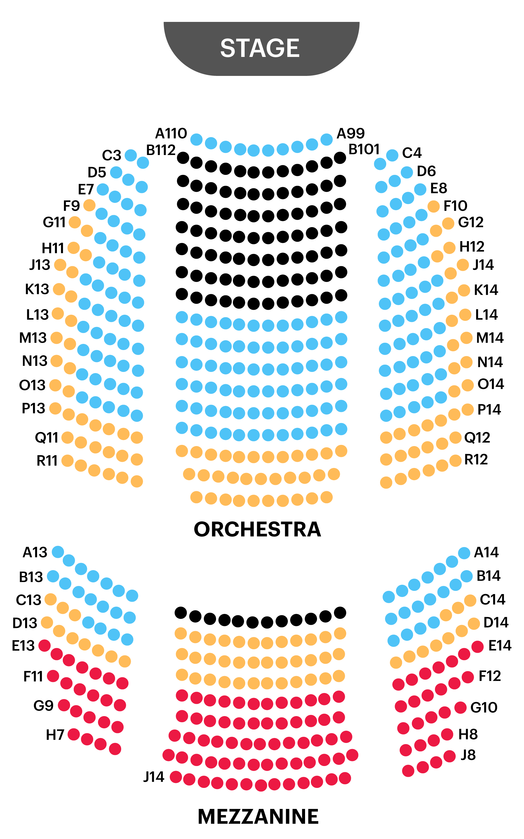 Helen Theatre Seating Chart Map