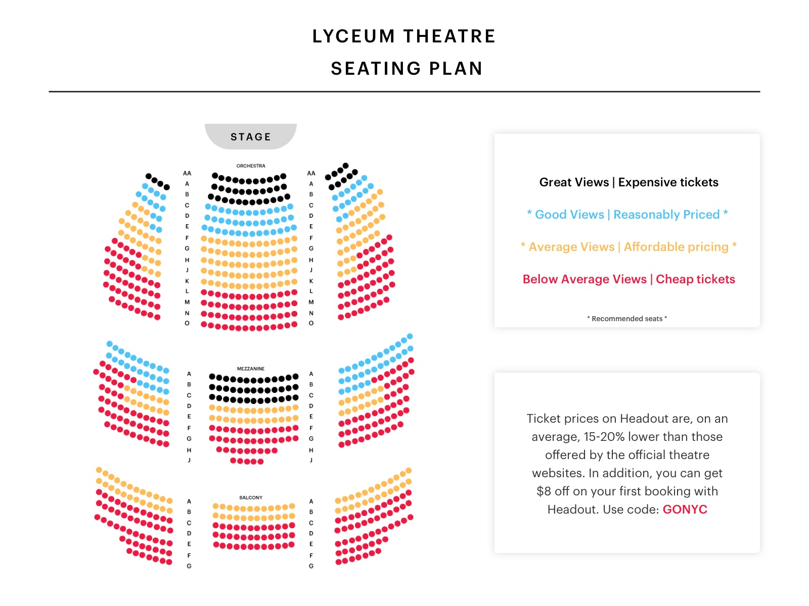 lyceum-theatre-nyc-Seating-Chart