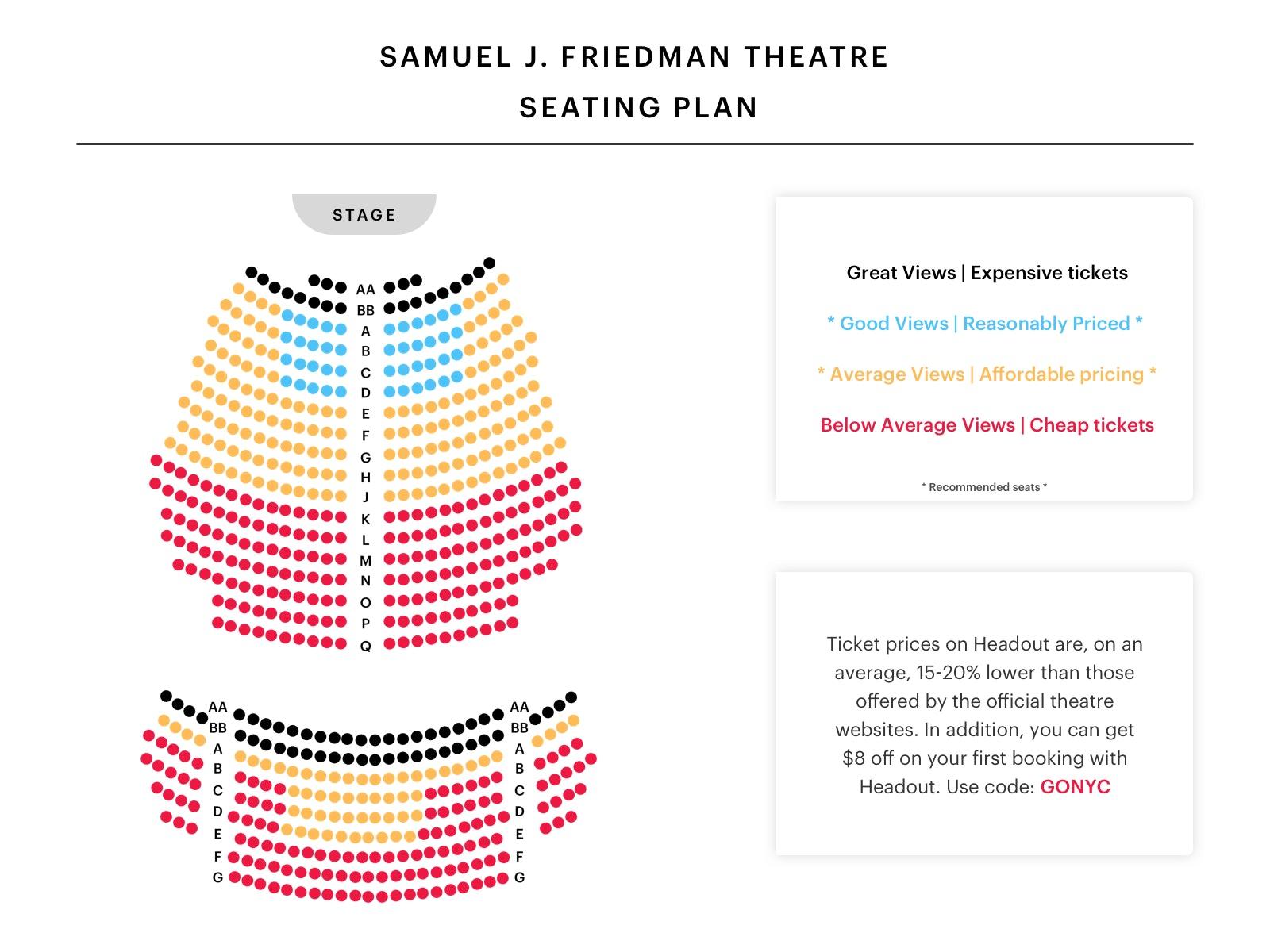 samuel-j-Friedman-Theatre-Seating-Chart