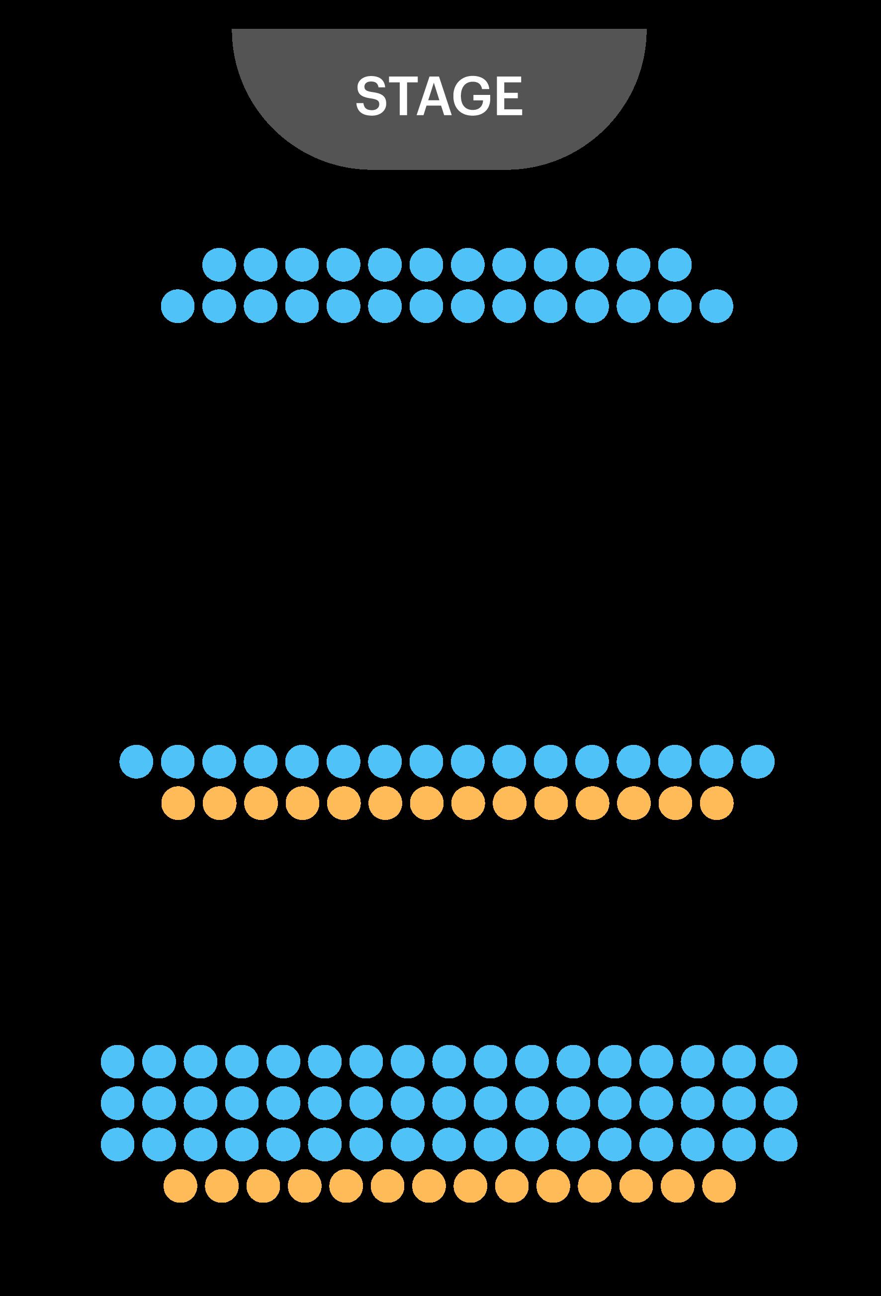 Arts Theatre Seating Plan