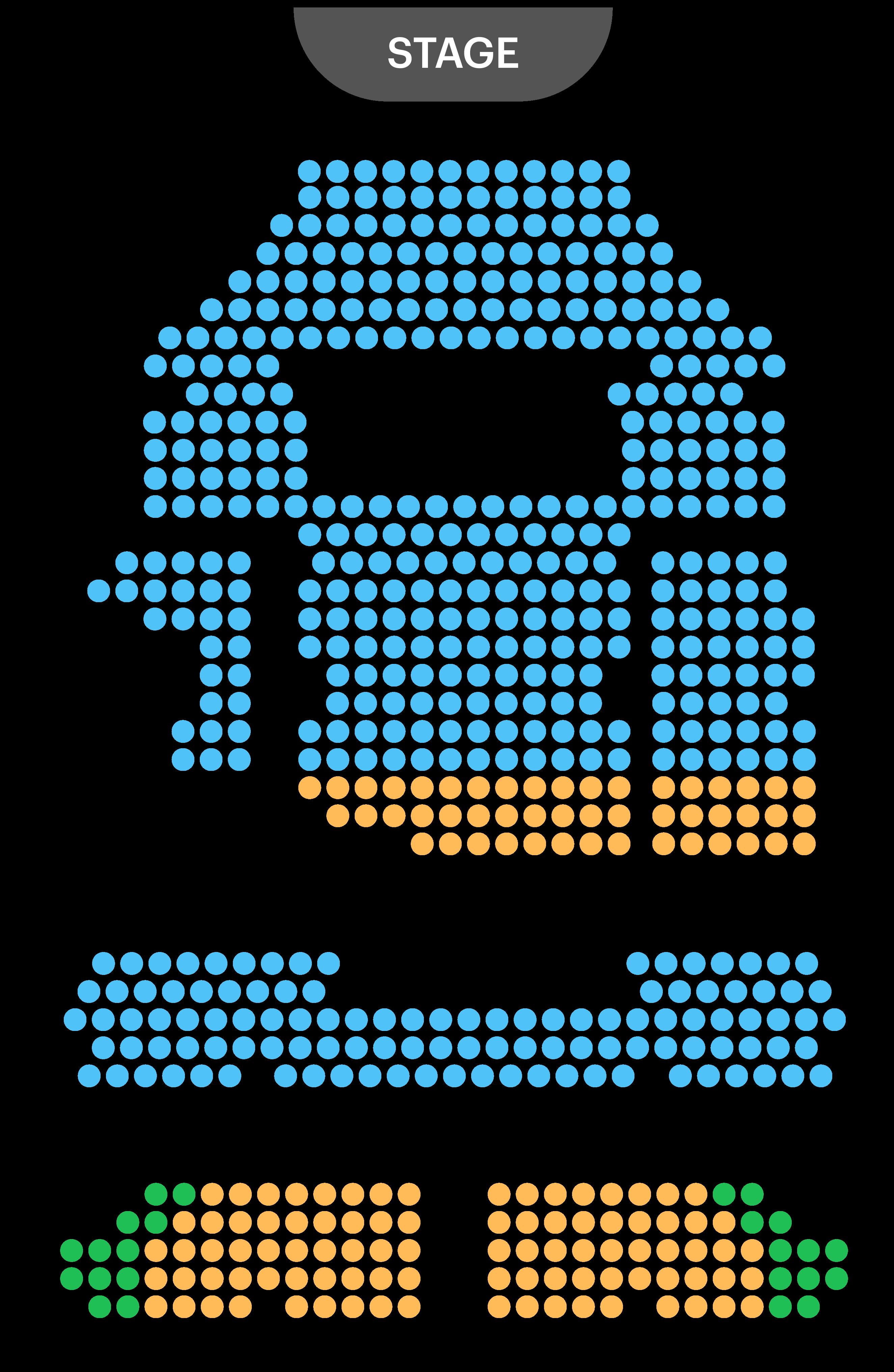 Garrick Theatre Seating Plan
