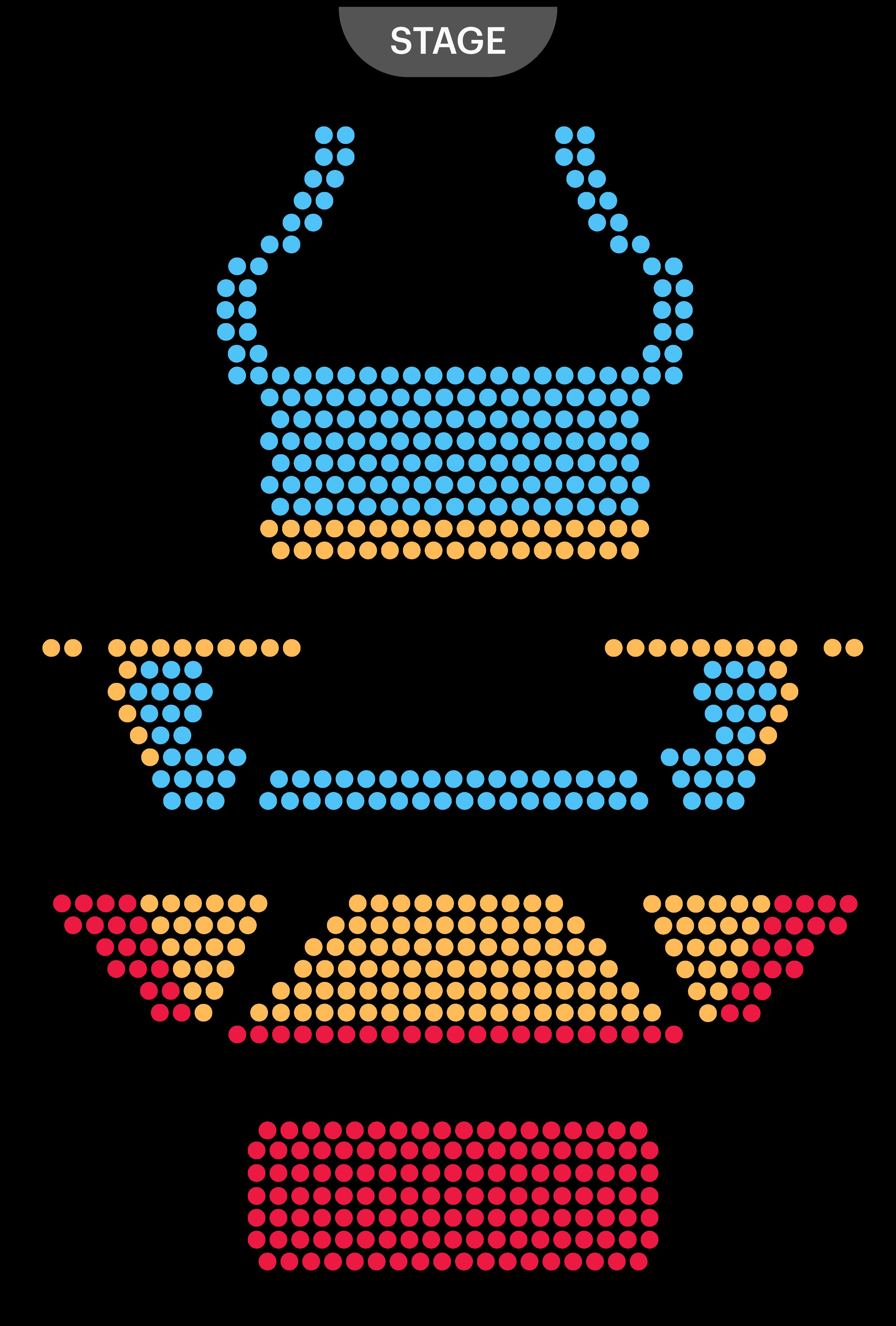 Theatre Royal Haymarket Seating Map