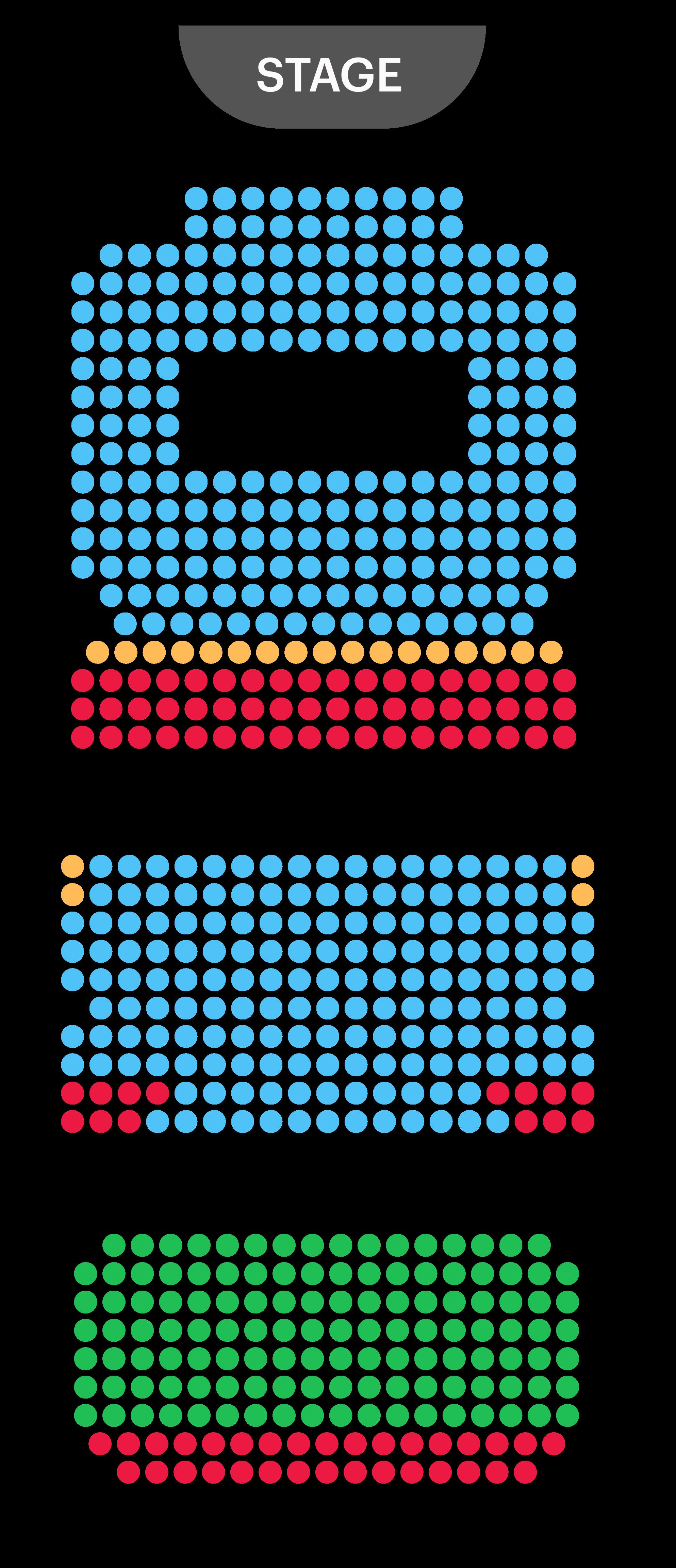 Vaudeville Theatre Seating Map